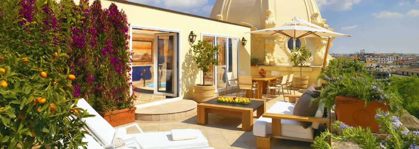 Luxury Hotel in Rome