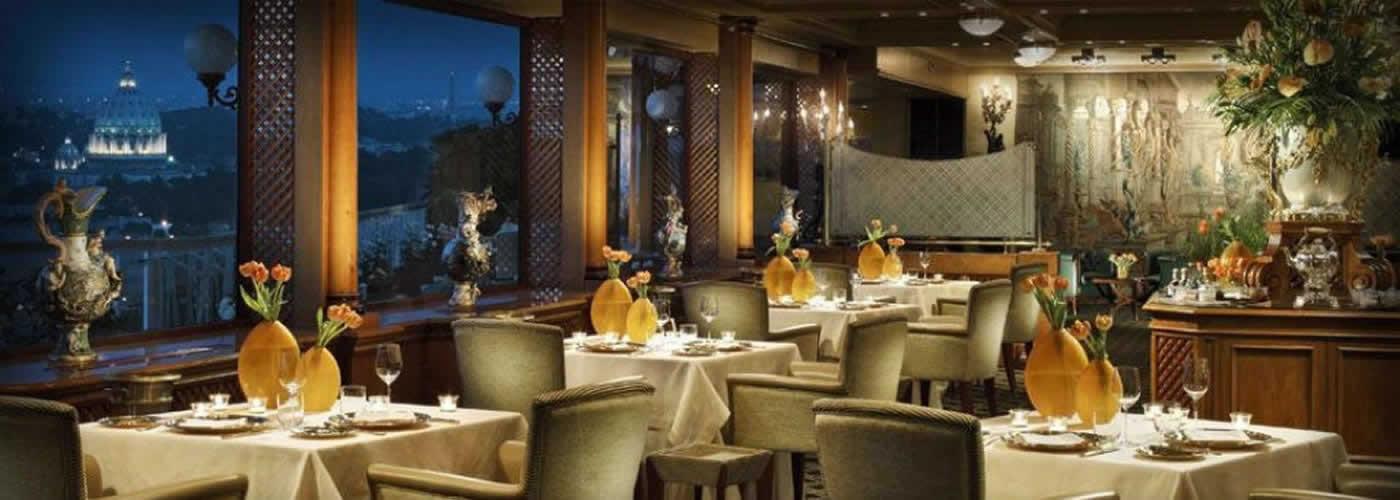 La Pergola Restaurant at Hilton Rome