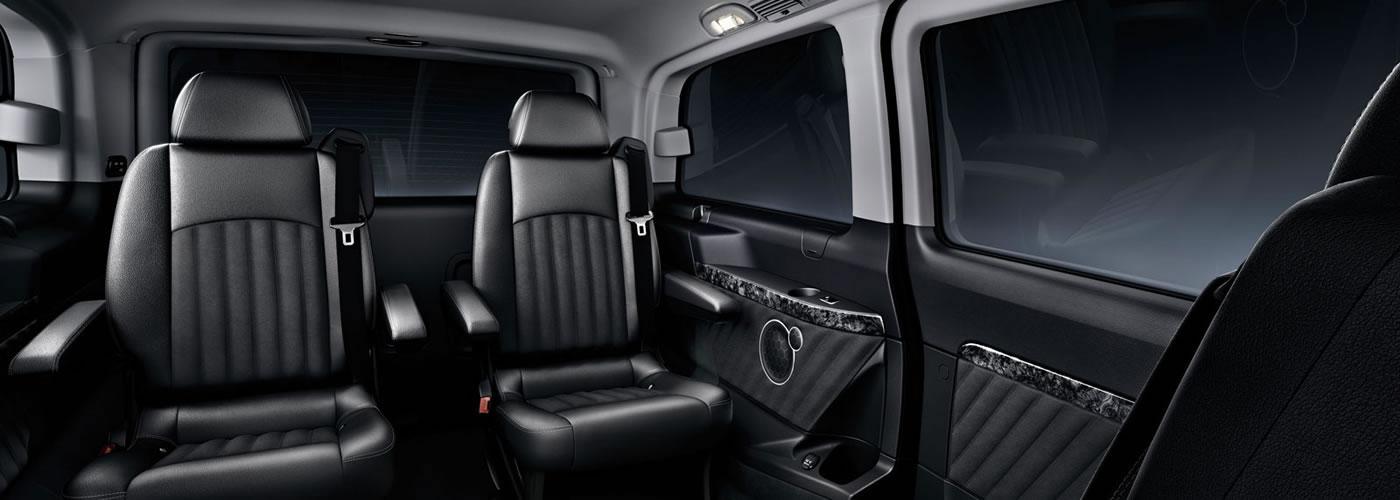 Luxury Van Interior