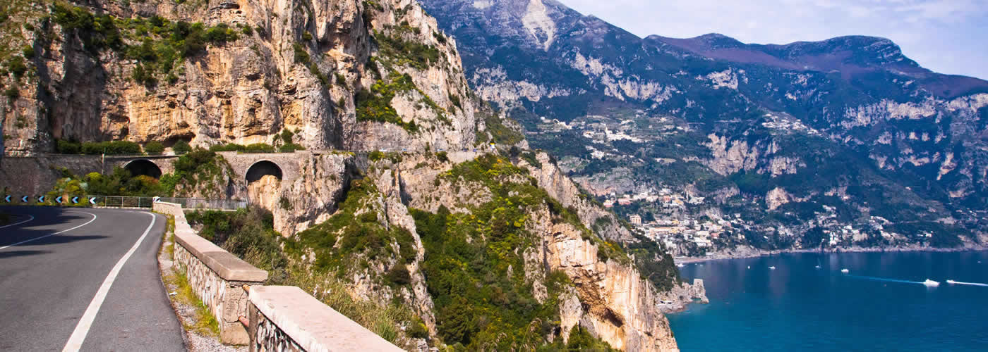 Panoramic Roads in Italy - Amalfi Coast