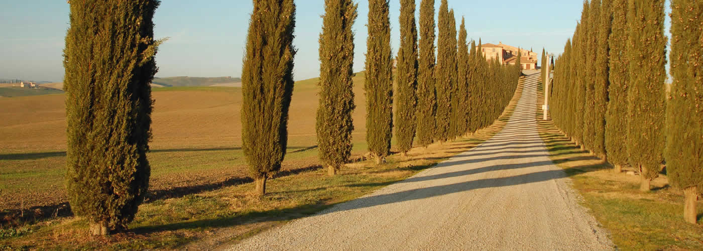Panoramic Roads in Italy - Tuscany