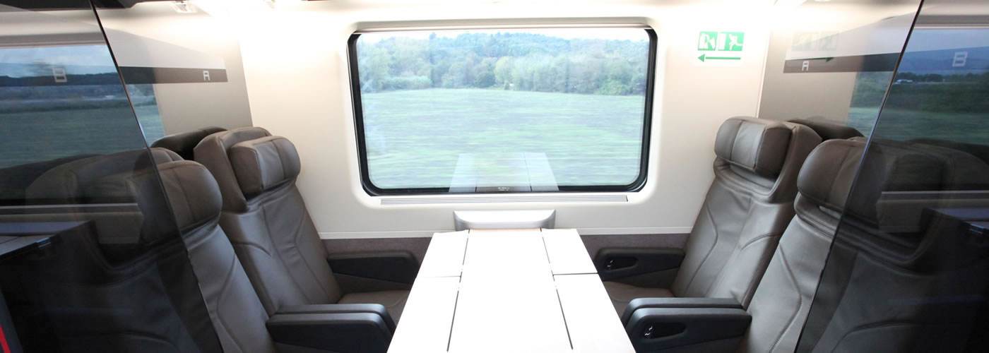 Luxury Train Transfers in Italy